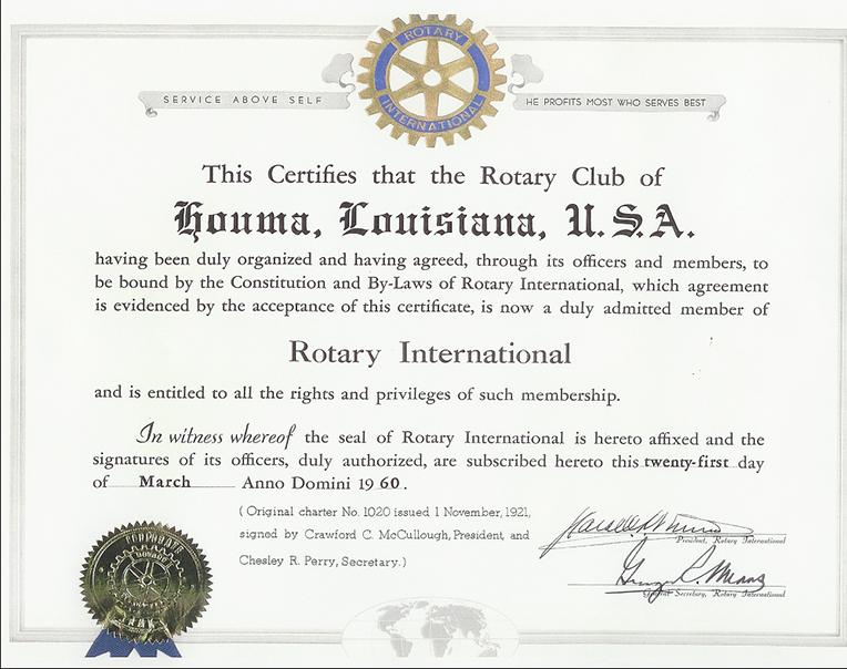 RI Certificate